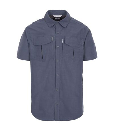 Trespass Mens Baddenotch Travel Shirt (Dark Grey) - UTTP5058