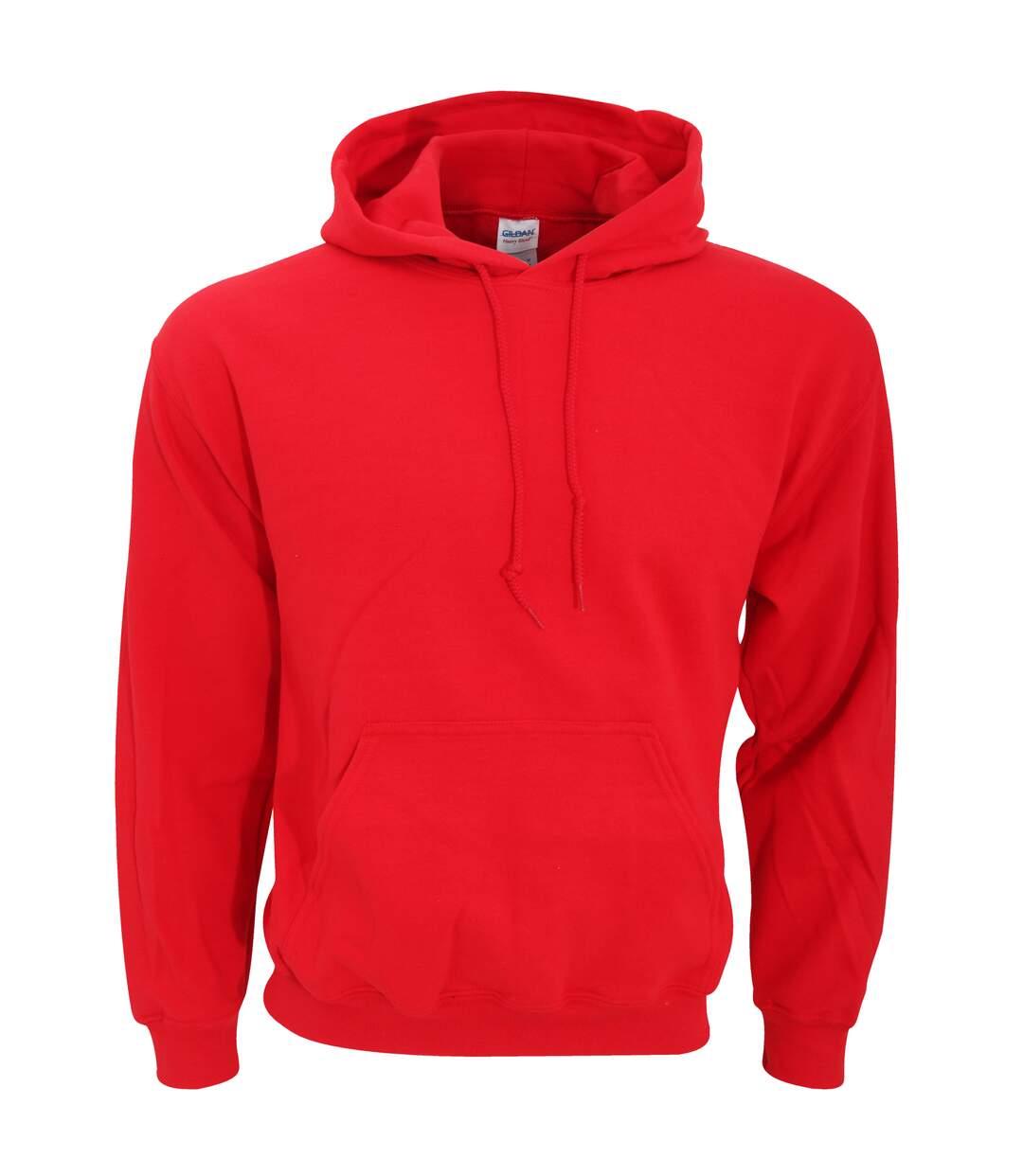 Gildan Heavy Blend Adult Unisex Hooded Sweatshirt / Hoodie (Orange) - UTBC468