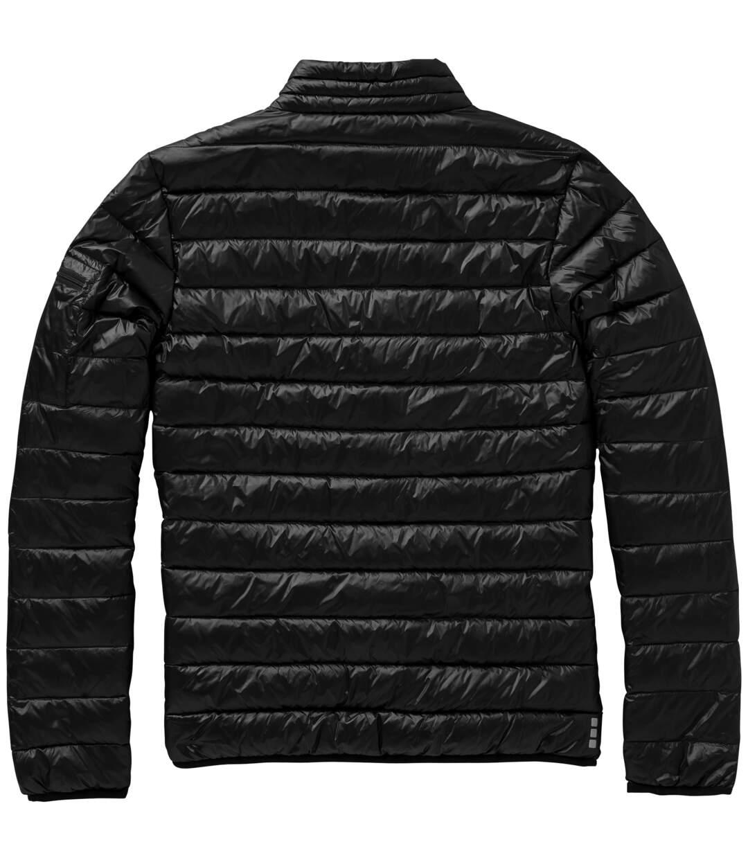 Elevate Mens Scotia Light Down Jacket (Solid Black) - UTPF1901
