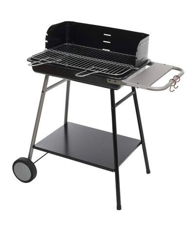 Barbecue à charbon Azur - L. 53 x l. 38 cm - Noir