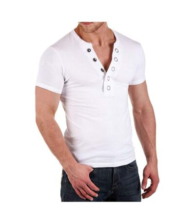 T shirt fashon homme T-shirt Carisma 126 blanc