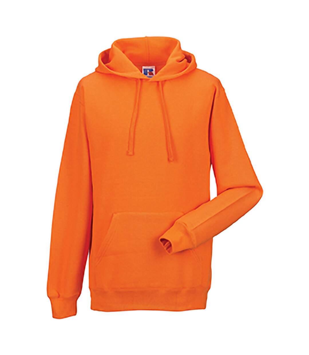 Russell Colour Mens Hooded Sweatshirt / Hoodie (Purple) - UTBC568