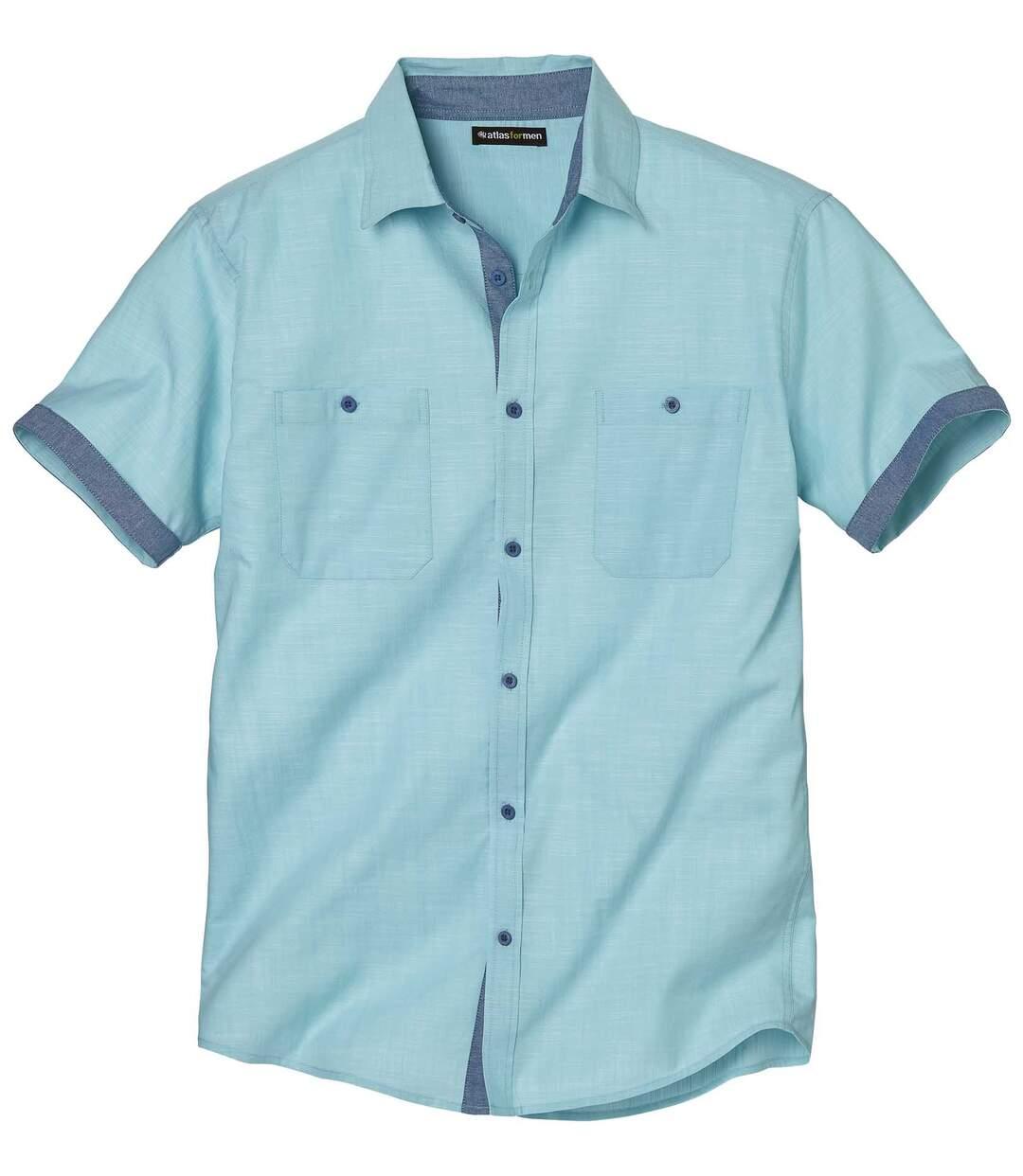 Riviera overhemd met korte mouwen
