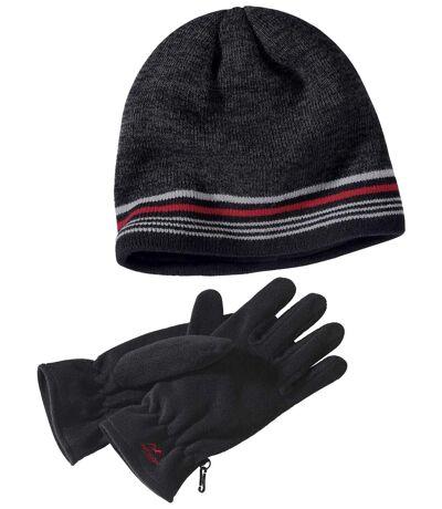 Ciepły duet rękawice + czapka OUTDOOR
