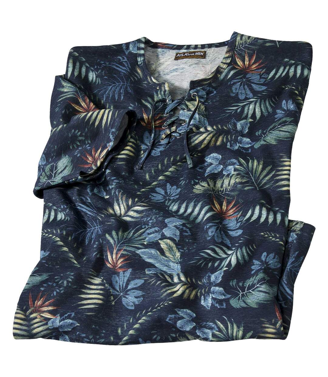 Tričko so šnurovaním Tropical