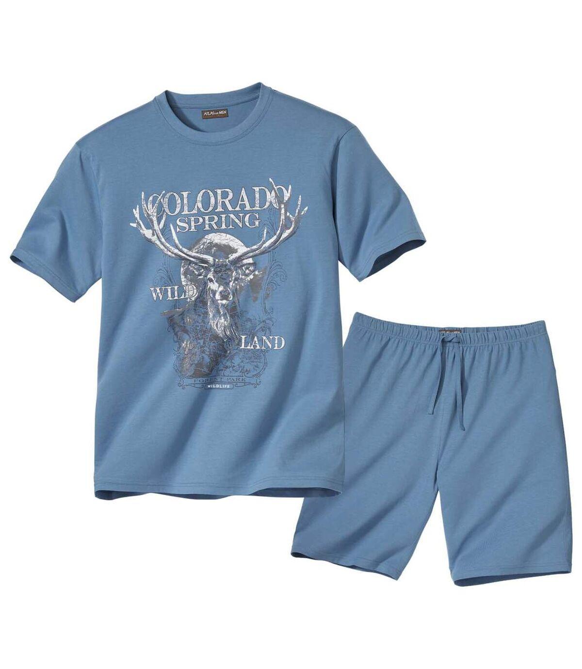 Krátké pyžamo Colorado Spring Atlas For Men