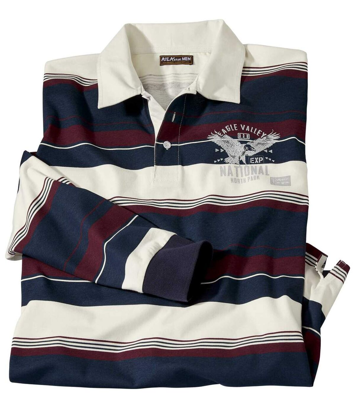 Rugby polo Eagle Valley Atlas For Men