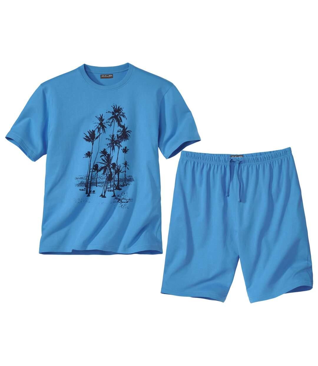 Krátke letné pyžamo