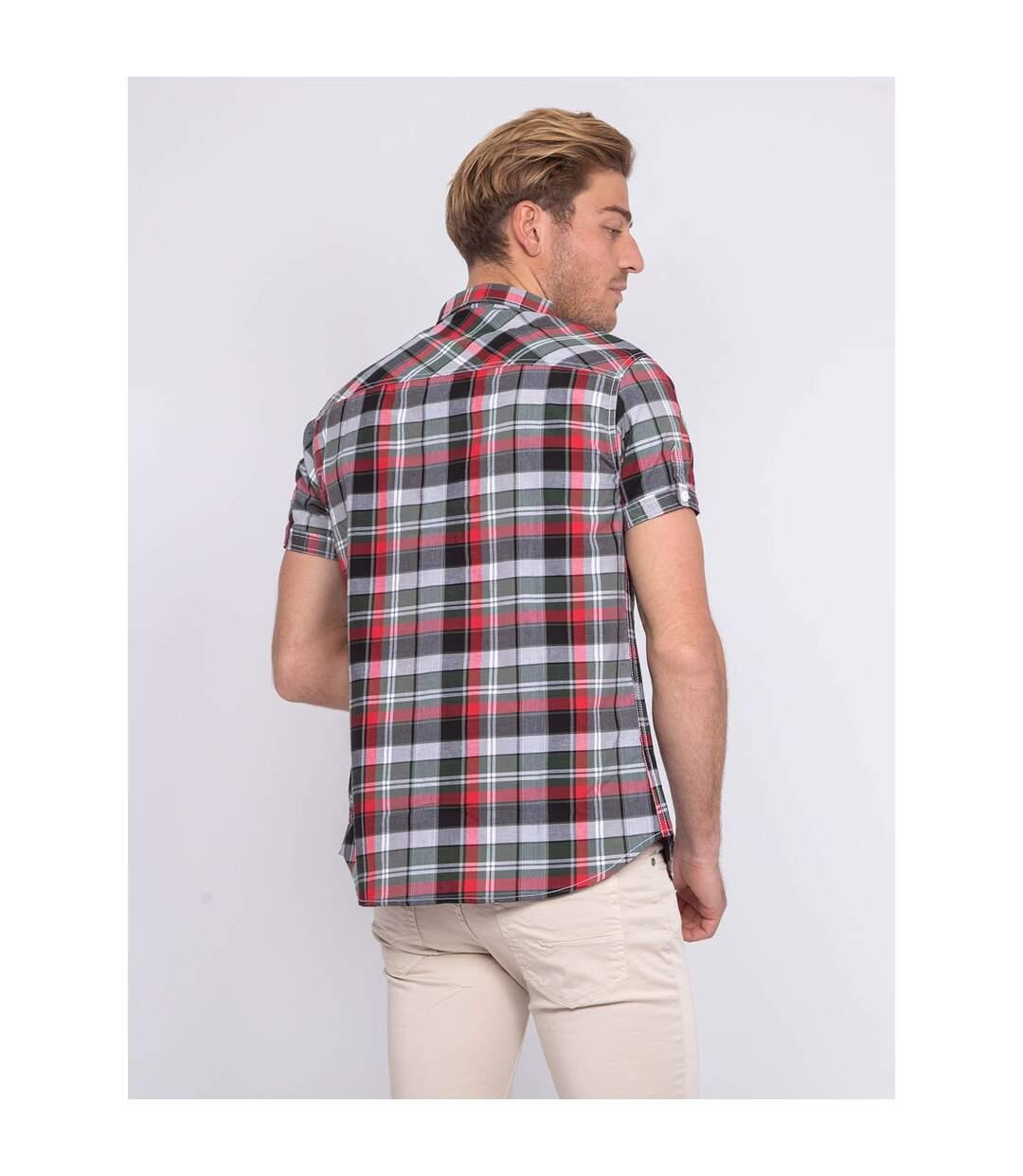Chemise manches courtes carreaux DUCCIO - RITCHIE