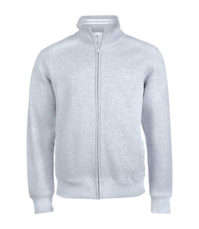 Kariban Mens Full Zip Fleece Jacket (Oxford Grey) - UTRW4220