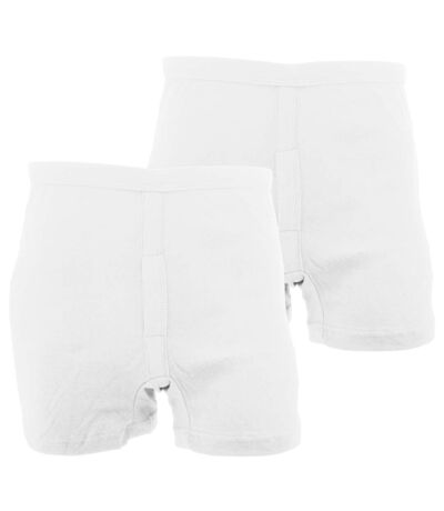 FLOSO - Boxers - Homme (Blanc) - UTMU161