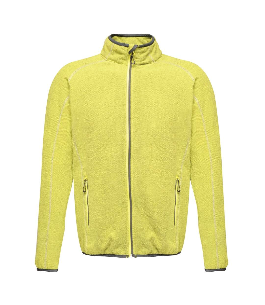 Regatta Mens Dreamstate Mini Honeycomb Fleece Jacket (Lime Punch) - UTPC3631