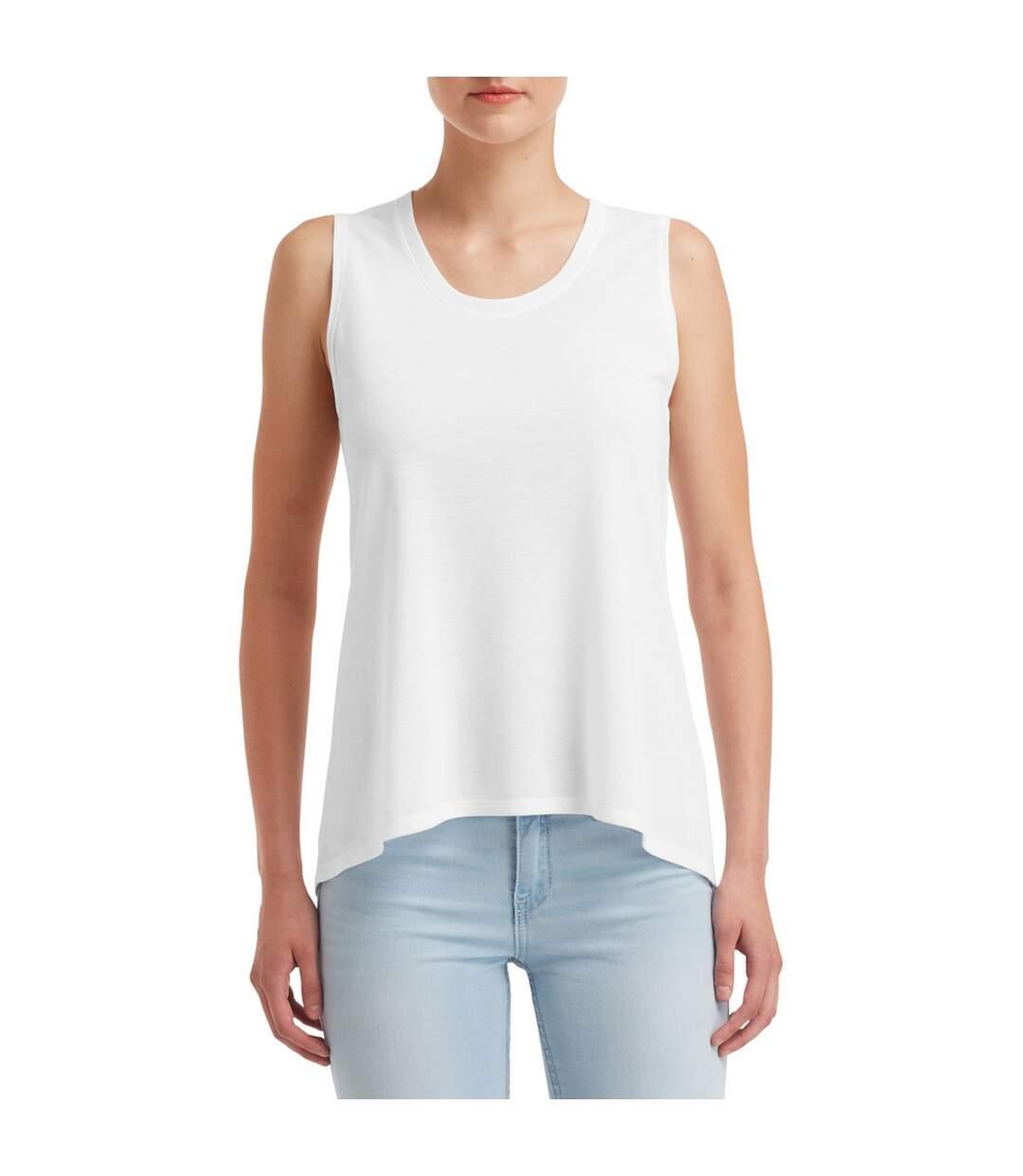 Anvil - T-Shirt Sans Manches - Femme (Blanc) - UTBC4057