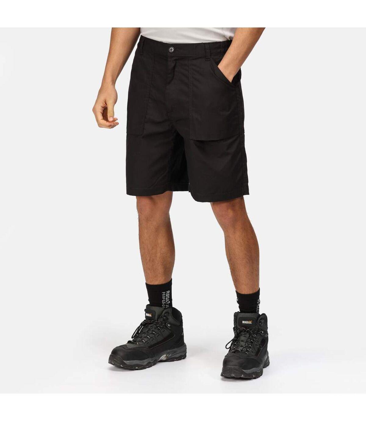 Regatta Mens New Action Sports Shorts (Black) - UTRW1235