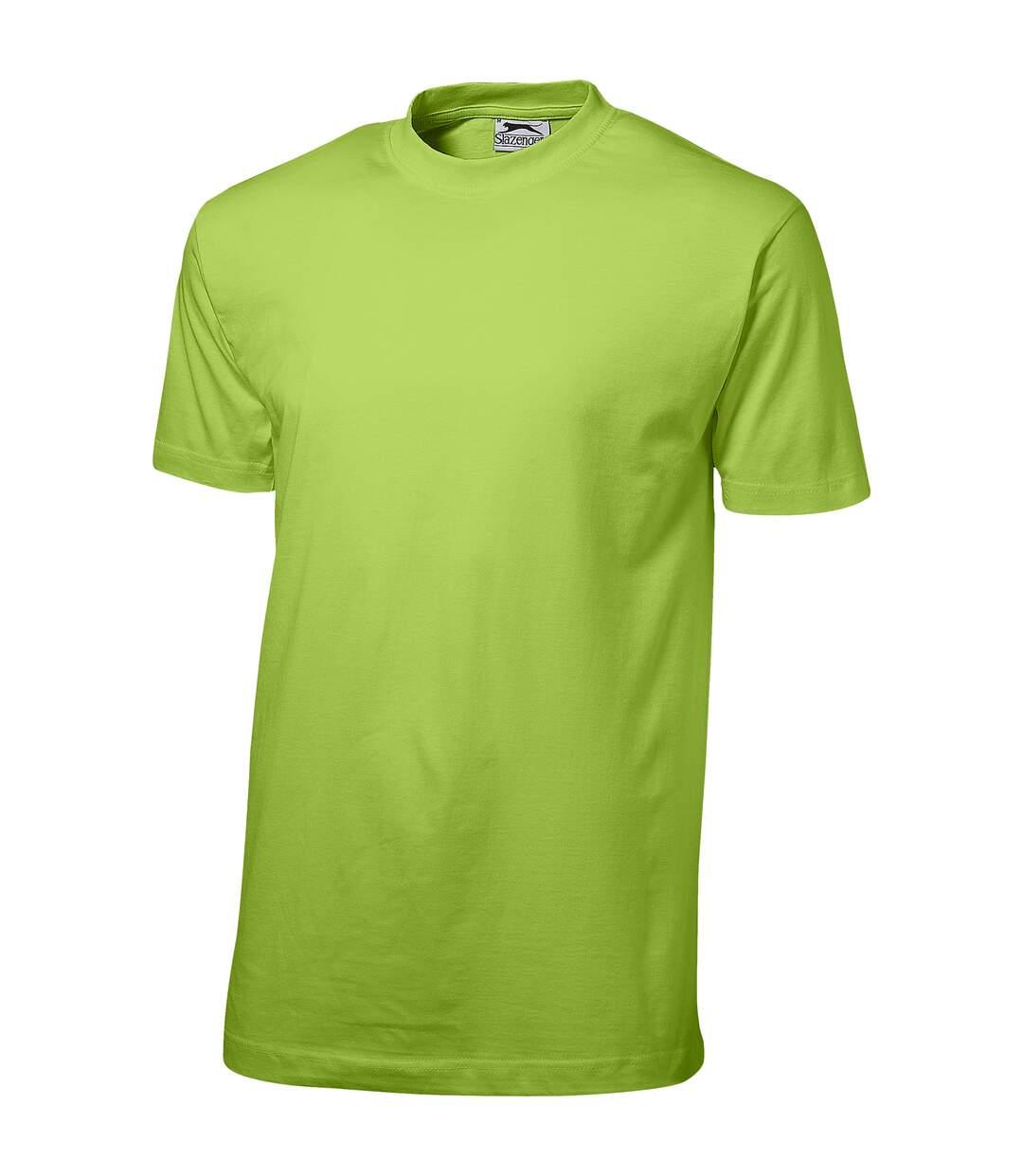 Slazenger Mens Ace Short Sleeve T-Shirt (Apple Green) - UTPF1802