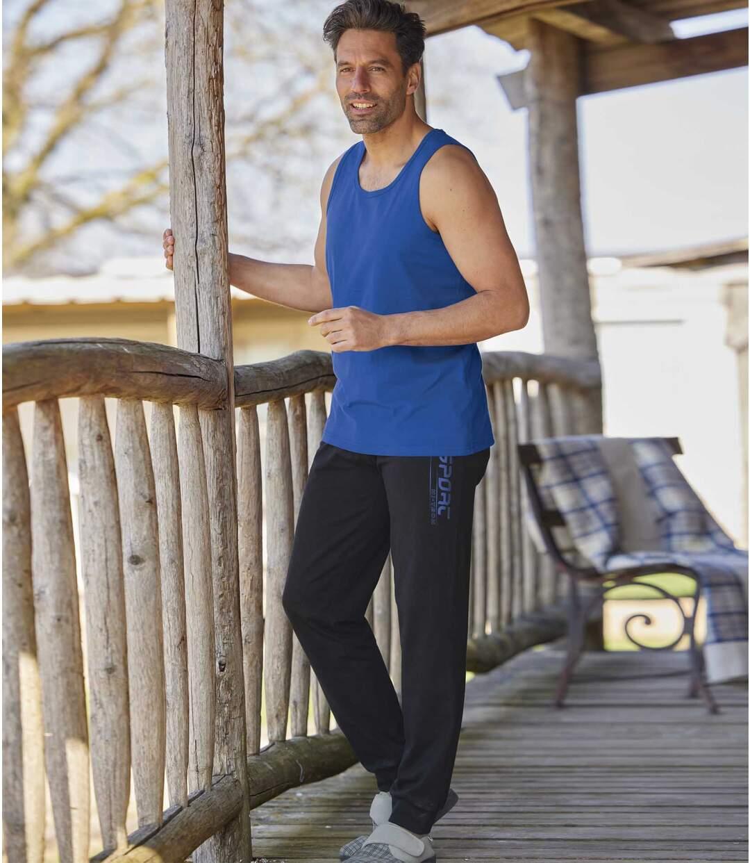 Men's Black Sweatpants Atlas For Men