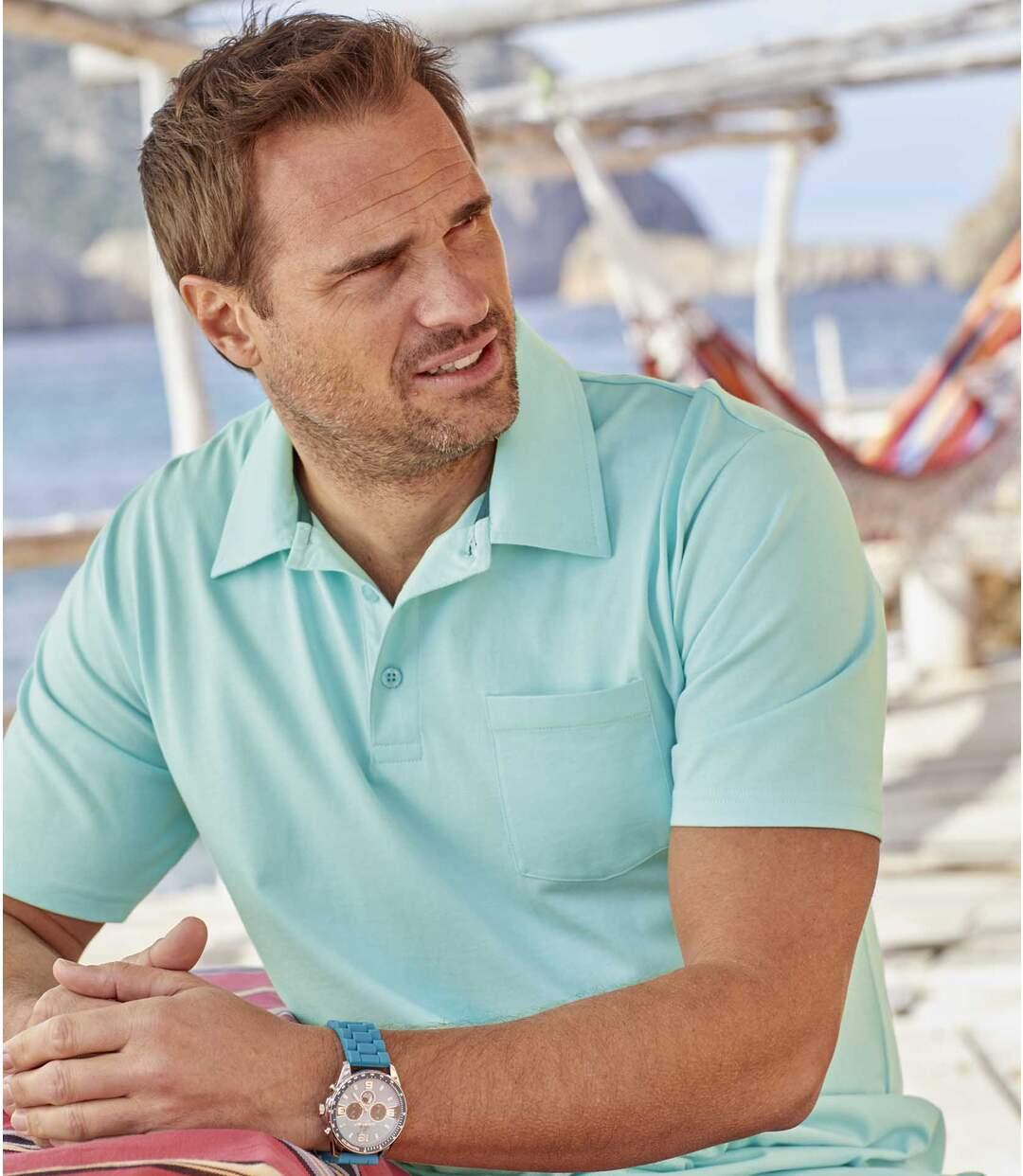 Zestaw 3 letnich koszulek Polo