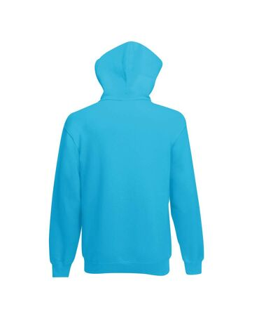 Fruit Of The Loom Mens Hooded Sweatshirt (Royal) - UTBC1369