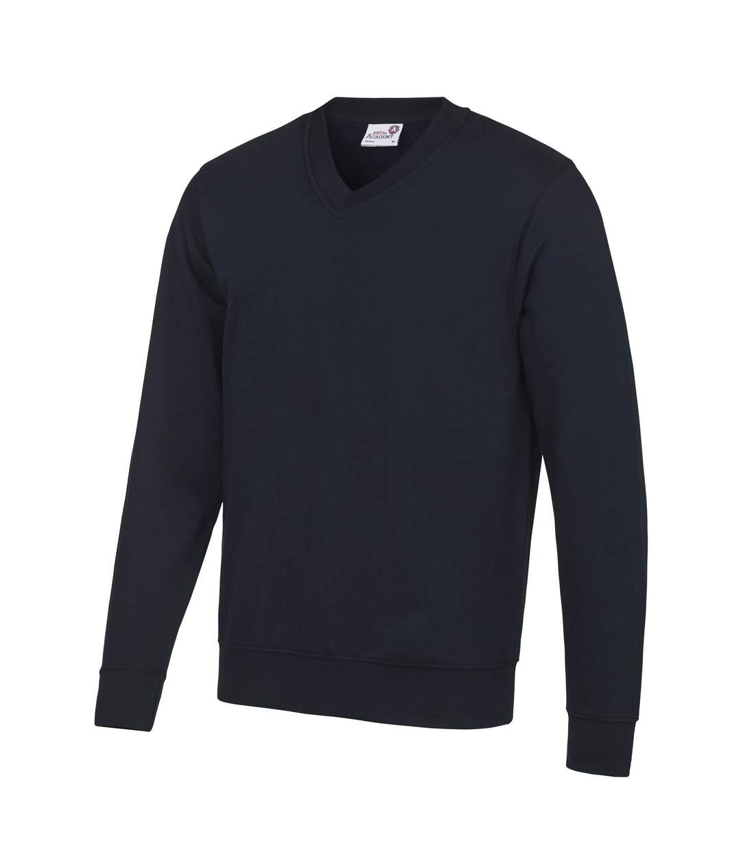 AWDis Academy Mens V Neck Jumper/Sweatshirt (Black) - UTRW3923