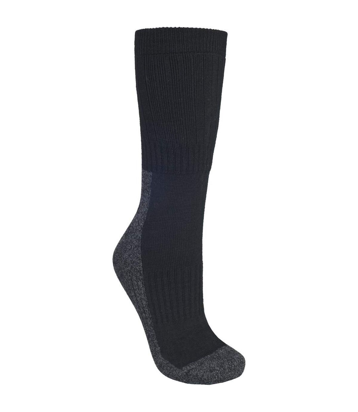 Trespass Mens Shak Lightweight Hiking Boot Socks (1 Pair) (Black) - UTTP321