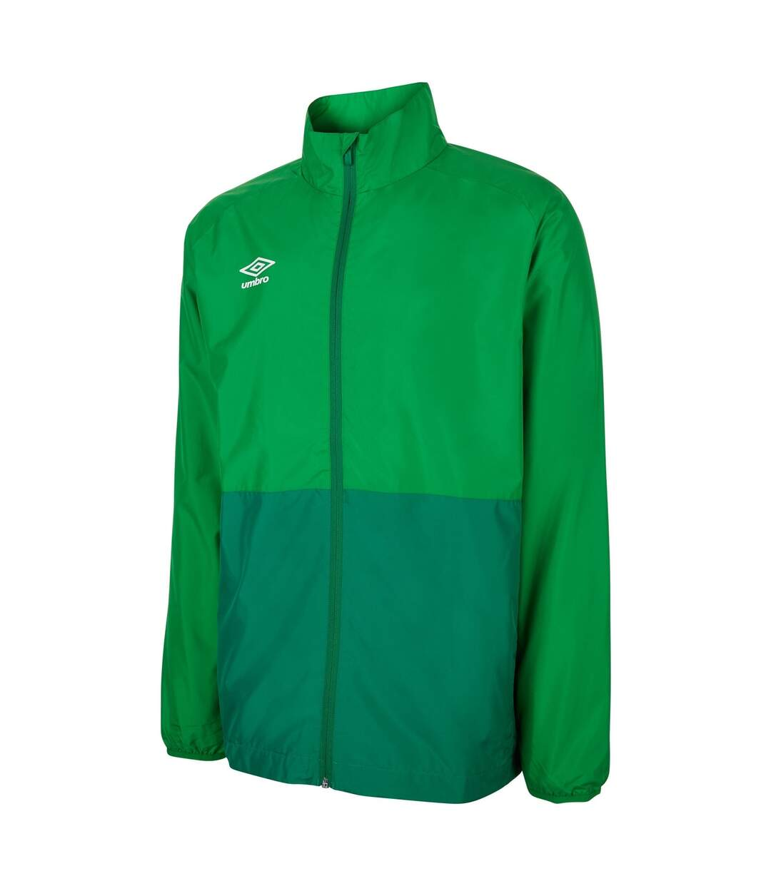 Umbro Mens Showerproof Training Jacket (Emerald Green/Verdant Green) - UTGD109