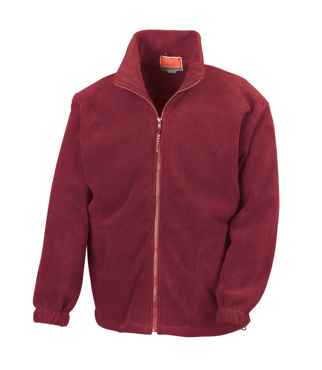 Result Mens Full Zip Active Fleece Anti Pilling Jacket (Red) - UTBC922