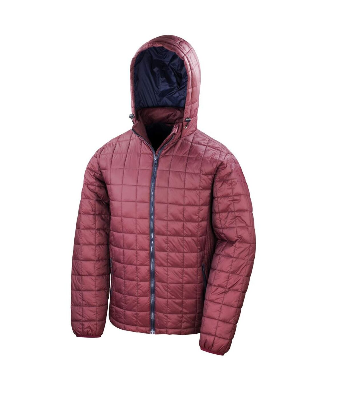 Result Adults Unisex Urban Outdoor Blizzard Jacket (Ruby/Navy) - UTRW5159
