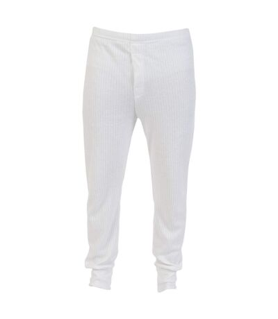 Absolute Apparel Mens Thermal Long Johns (White) - UTAB123
