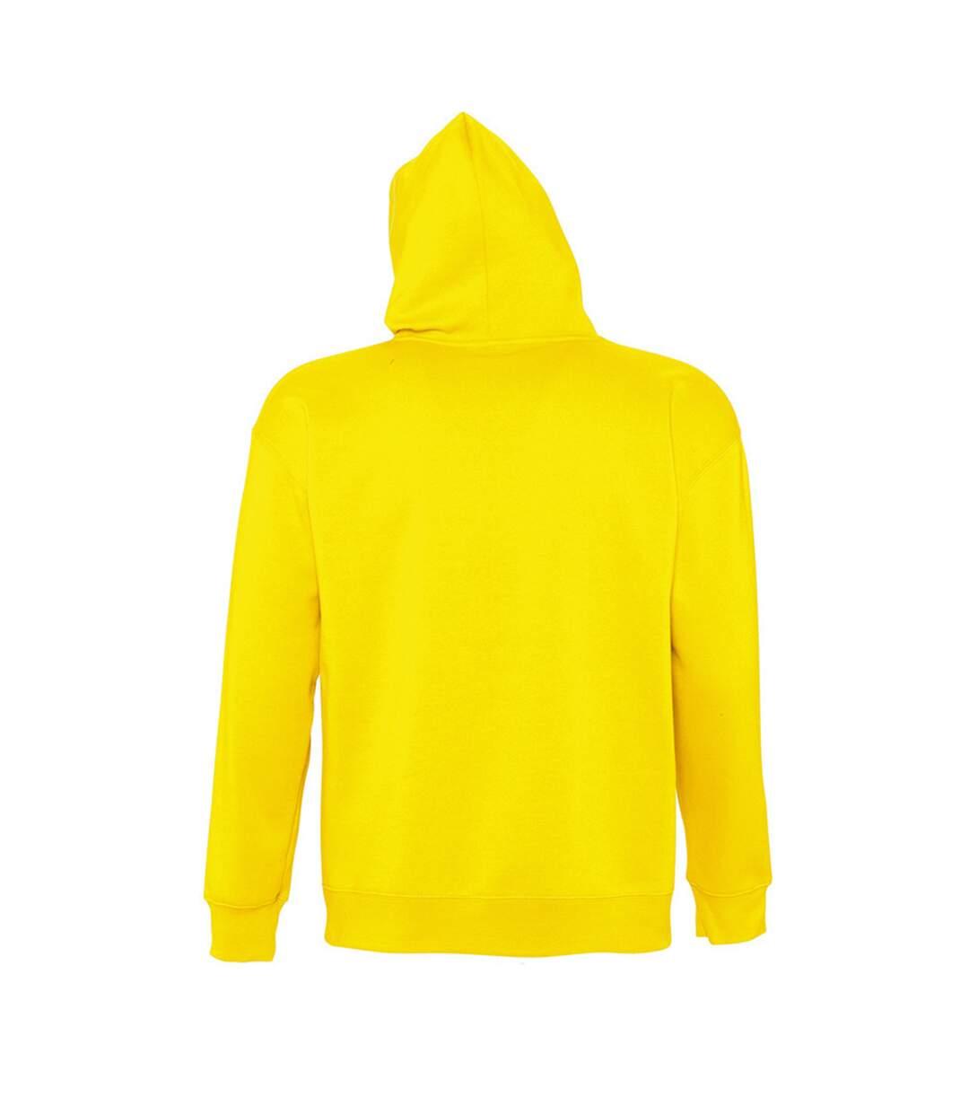 SOLS Slam Unisex Hooded Sweatshirt / Hoodie (Army) - UTPC381