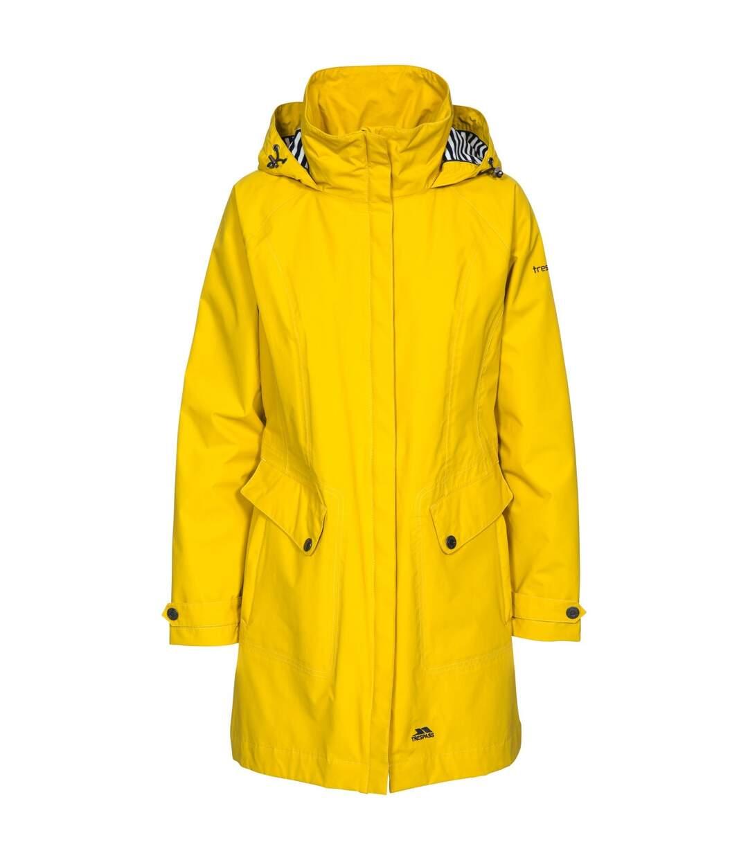Trespass Womens/Ladies Rainy Day Waterproof Jacket (Ink) - UTTP3613