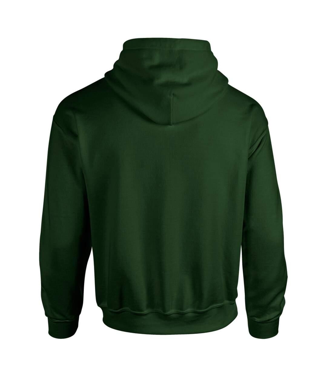 Gildan Heavy Blend Adult Unisex Hooded Sweatshirt / Hoodie (Plum) - UTBC468