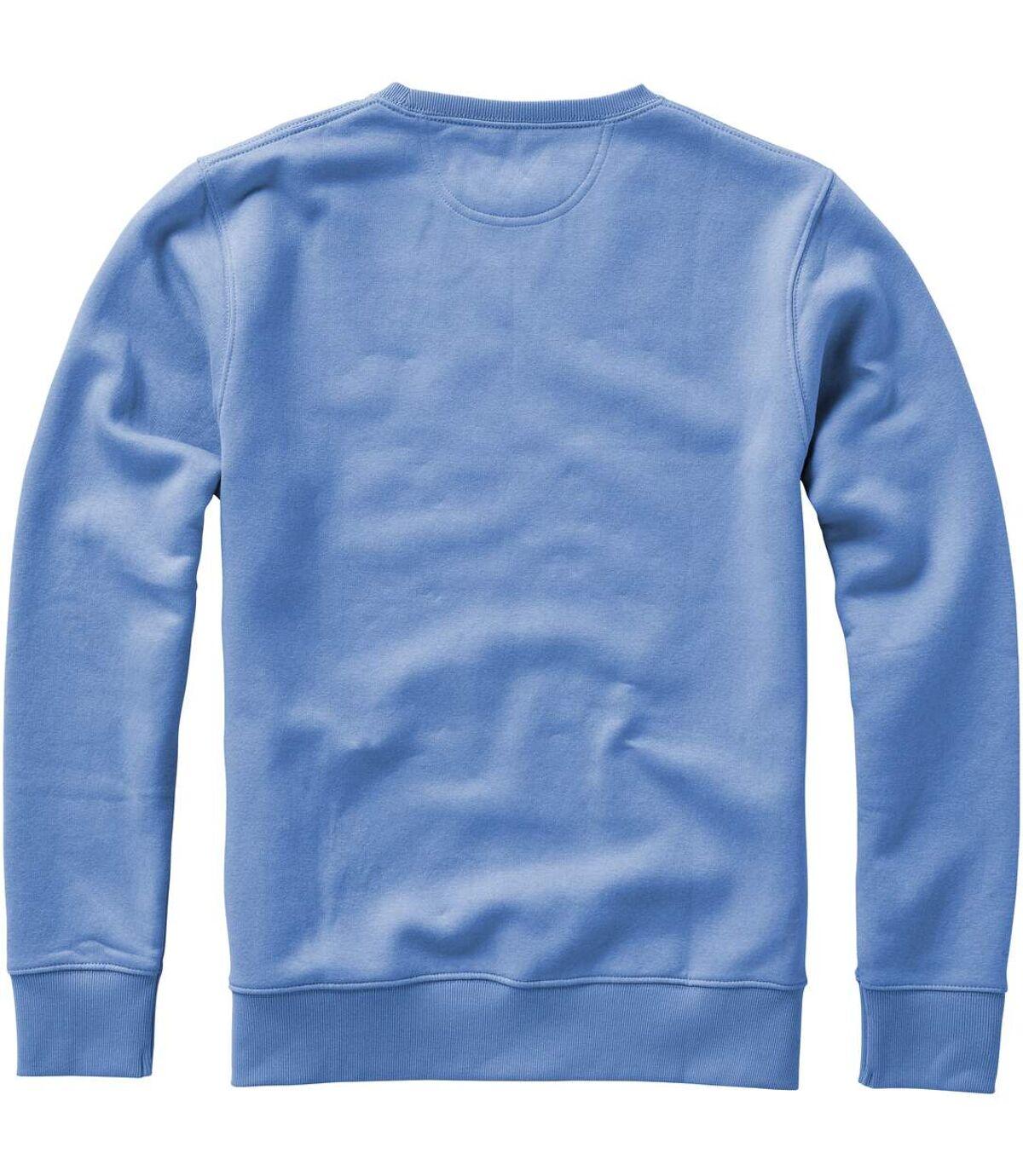 Elevate Mens Surrey Crew Neck Sweater (Red) - UTPF1849