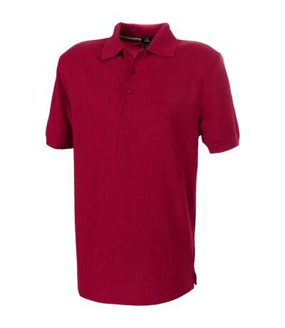 Elevate Crandall Short Sleeve Polo (Red) - UTPF1831