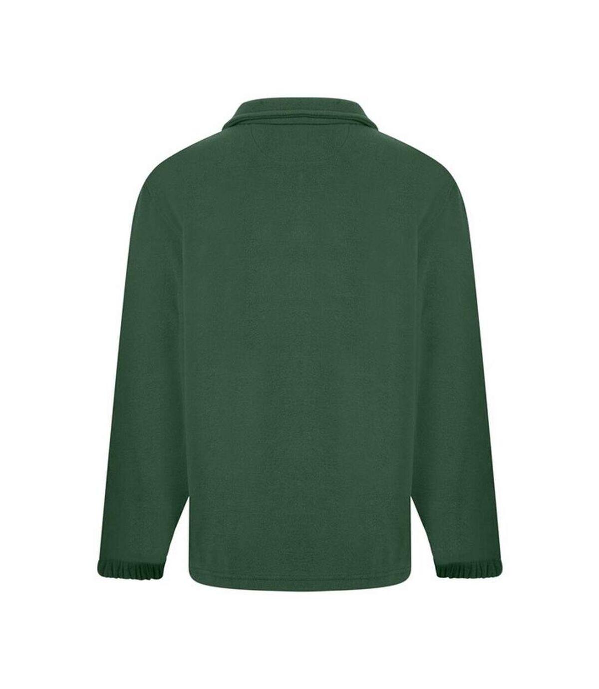 Absolute Apparel - Polaire zippée HERITAGE - Homme (Vert foncé) - UTAB128