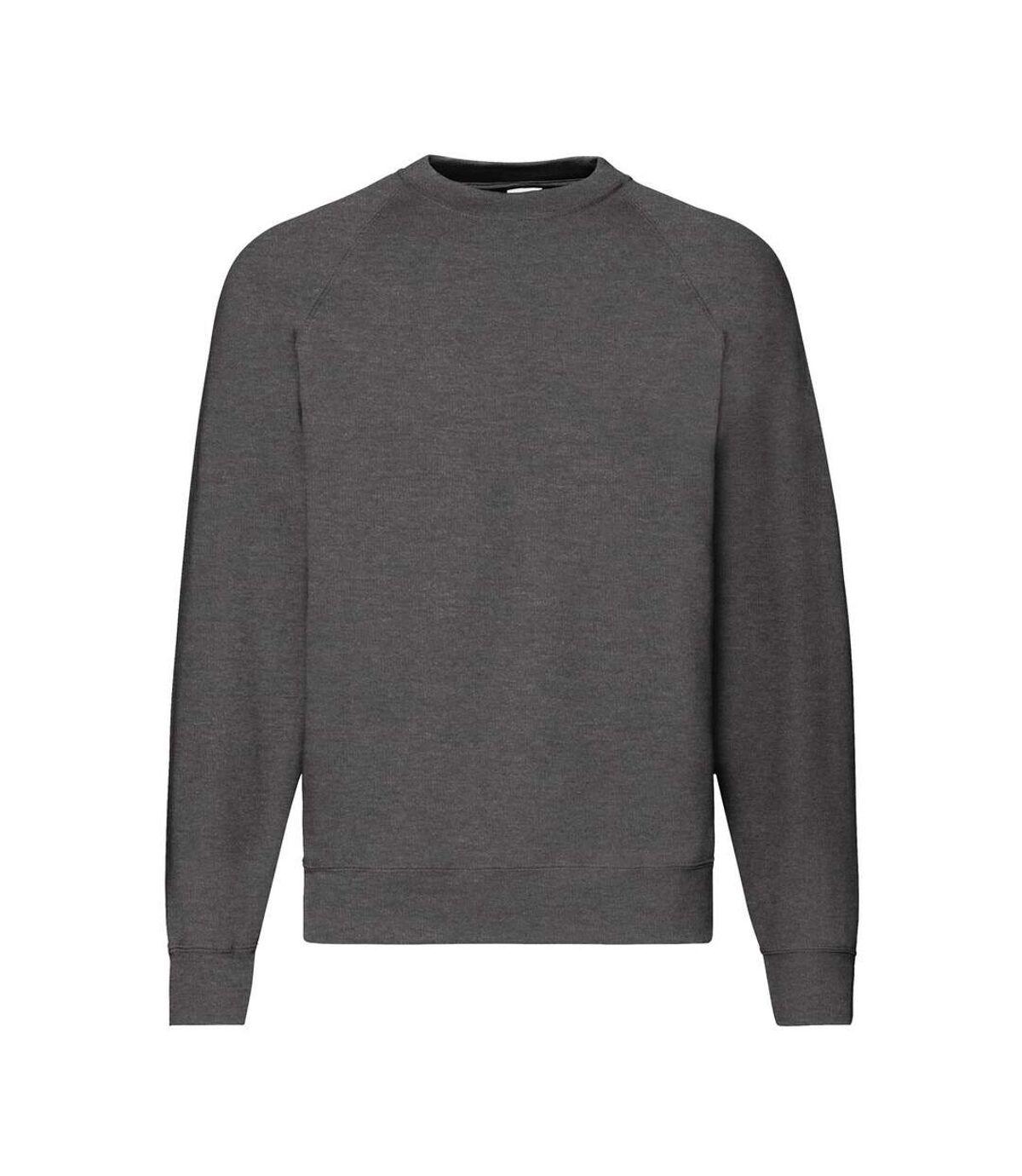 Fruit Of The Loom Mens Raglan Sleeve Belcoro® Sweatshirt (Purple) - UTBC368