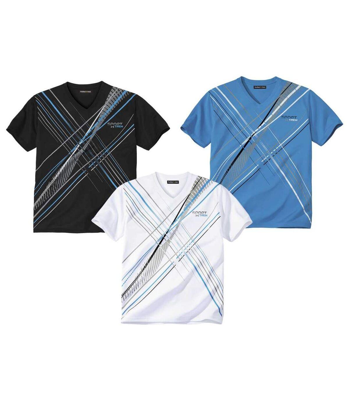 Lot de 3 Tee-Shirts Sport X-Trem  Atlas For Men