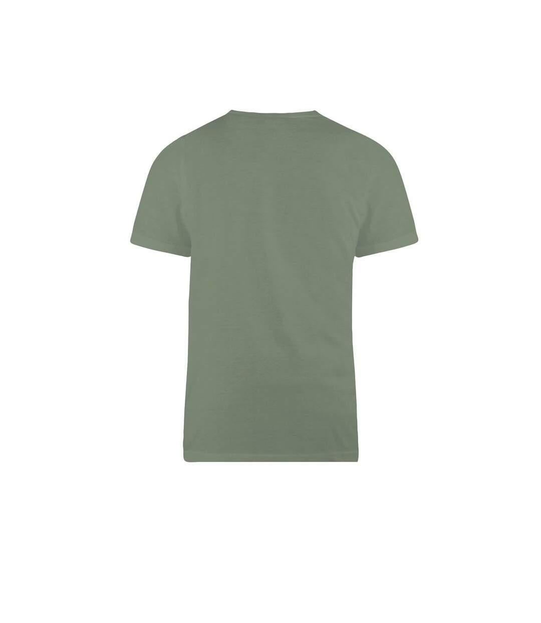 Duke Mens Flyers-2 Kingsize Crew Neck T-Shirt (Khaki) - UTDC170