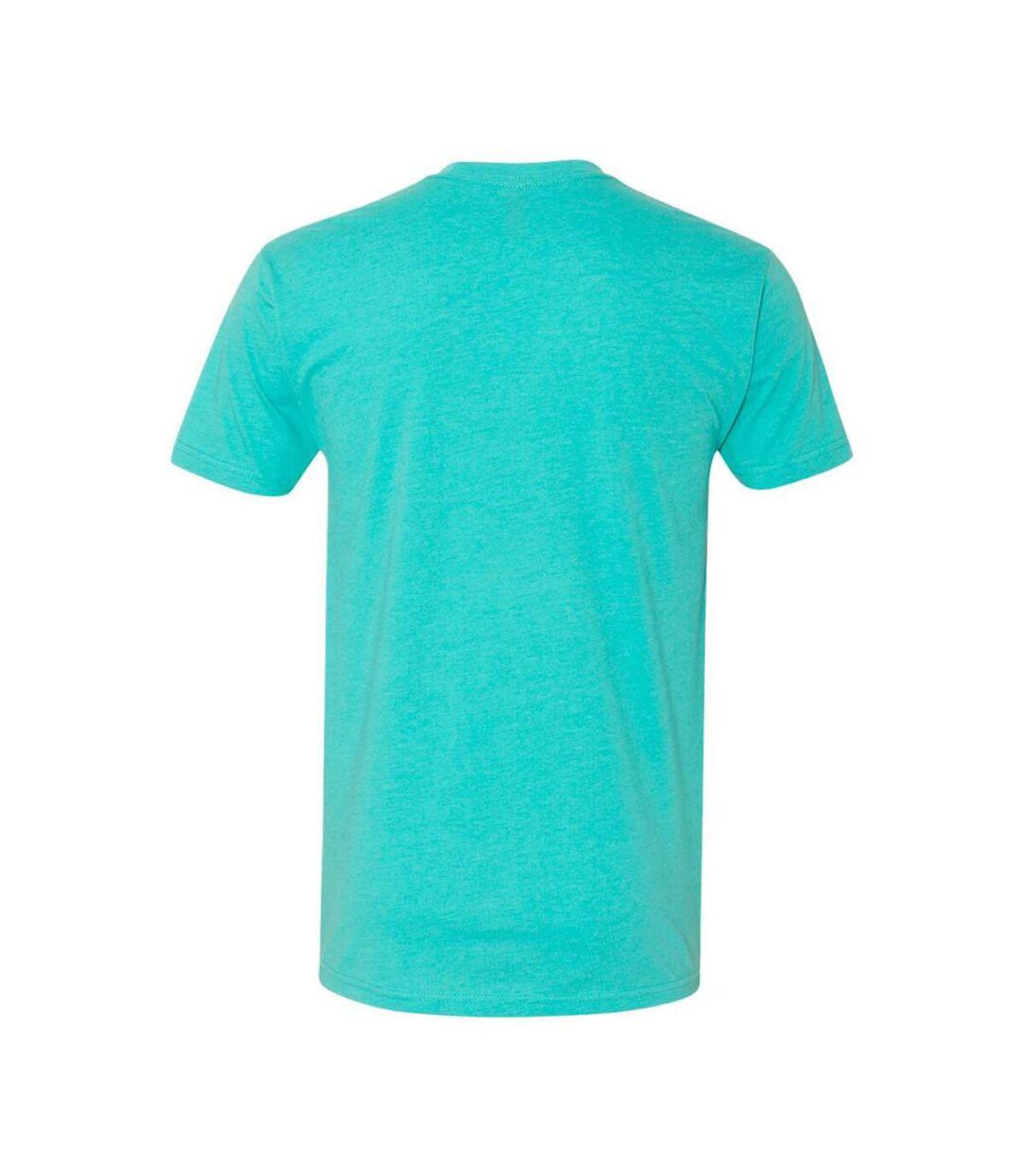 Next Level Adults Unisex CVC Crew Neck T-Shirt (Tahiti Blue) - UTPC3480