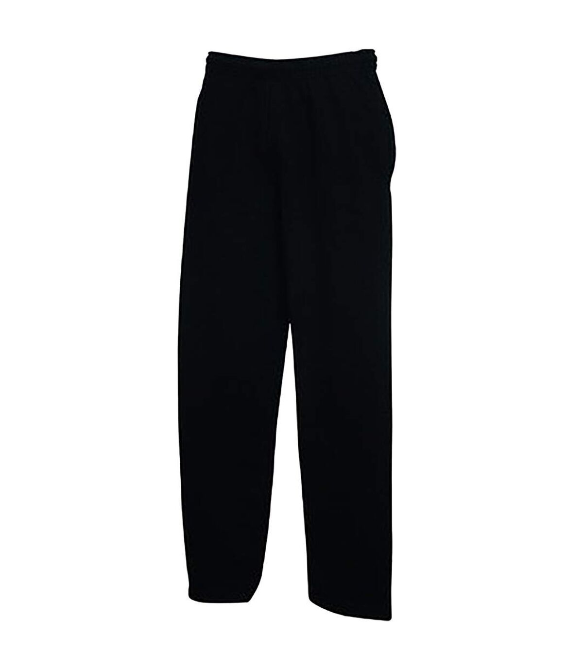 Fruit Of The Loom Mens Open Hem Jog Pants / Jogging Bottoms (Heather Grey) - UTBC396