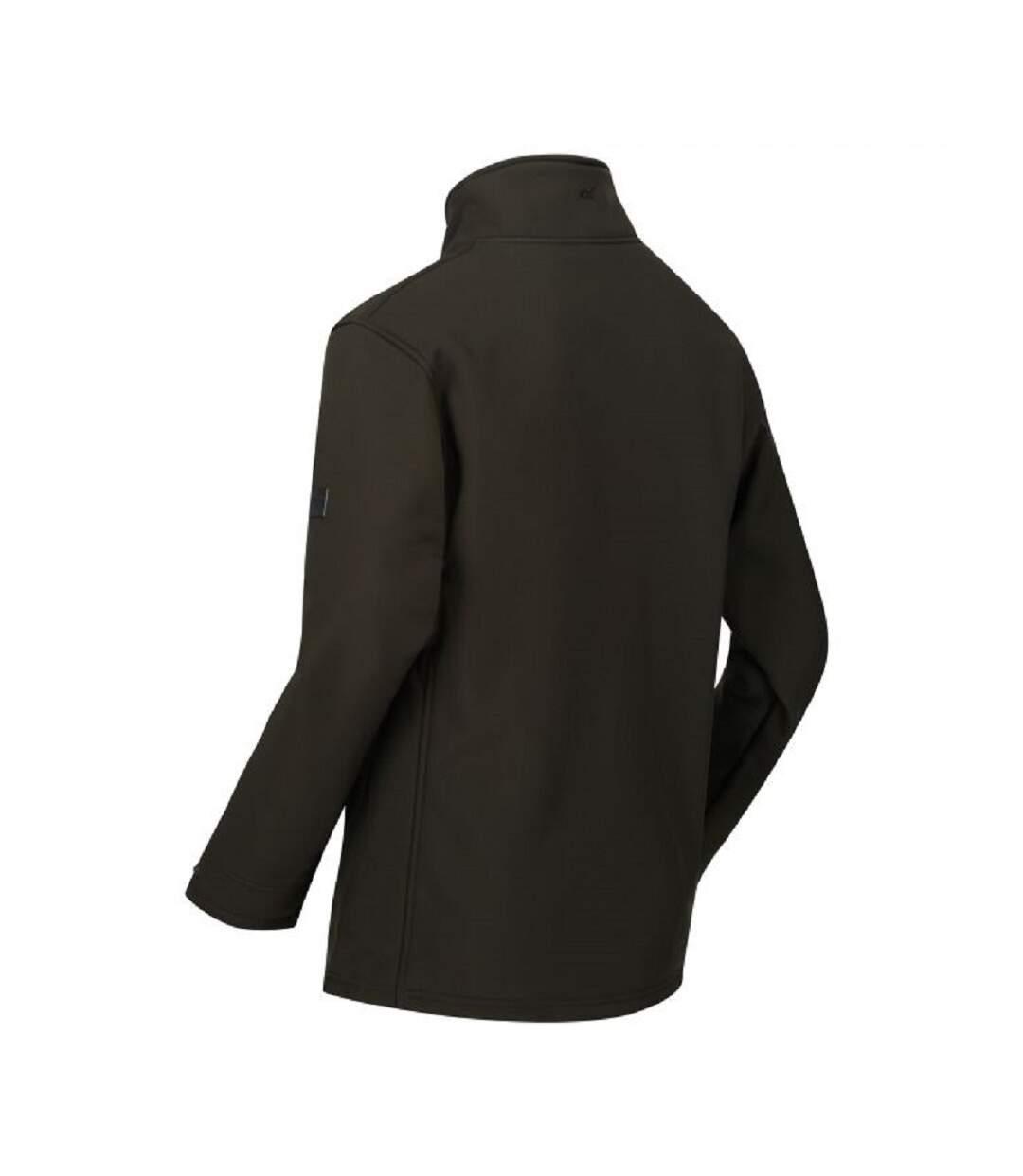 Regatta Mens Conlan Softshell Jacket (Bayleaf/Black) - UTRG4524