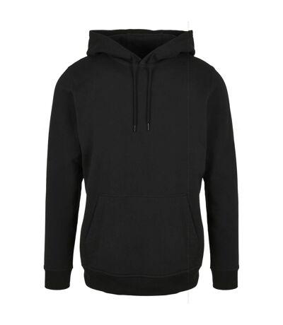 Build Your Brand Mens Basic Hoodie (Black) - UTRW8025