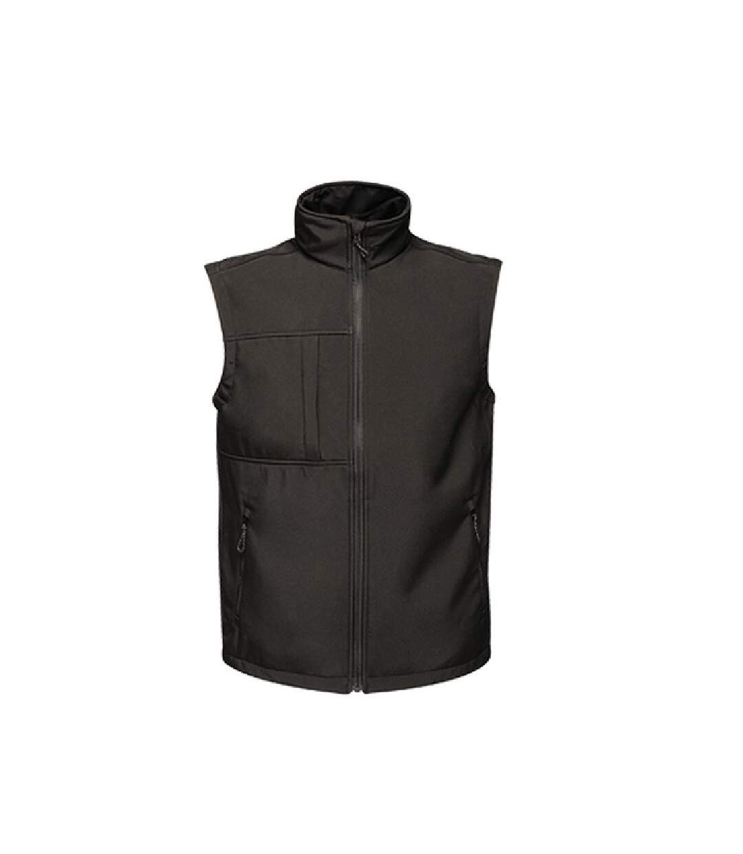 Regatta Mens Octagon II Printable Soft Shell Bodywarmer (Black/Black) - UTPC3297