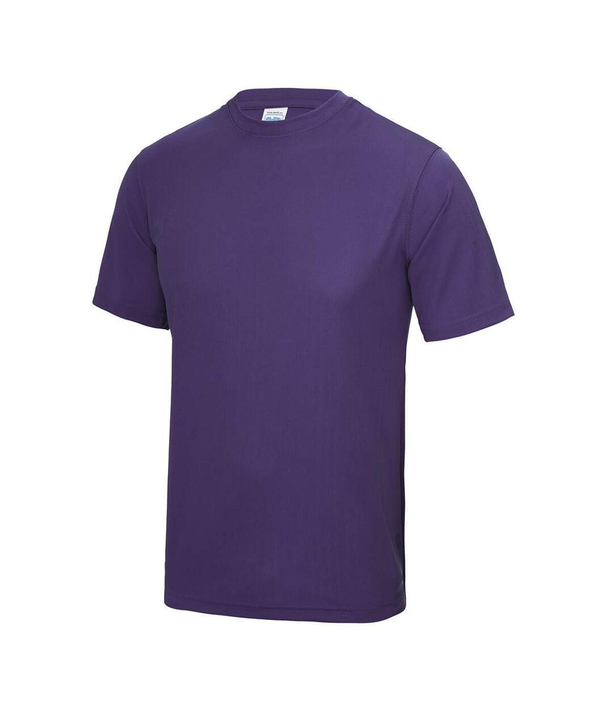 AWDis Just Cool Mens Performance Plain T-Shirt (Red hot Chilli) - UTRW683