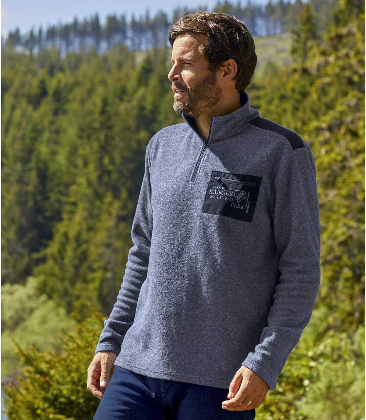 Winter Time polár pulóver Atlas For Men