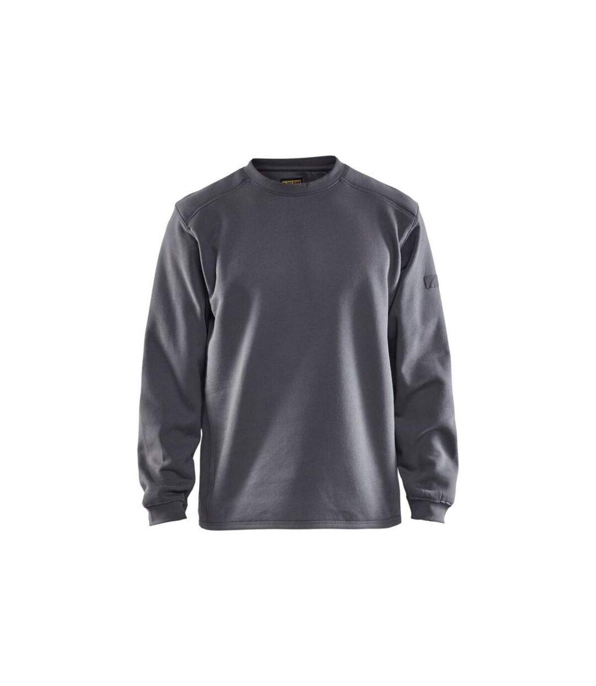 Sweat shirt  col rond Blaklader molletonné