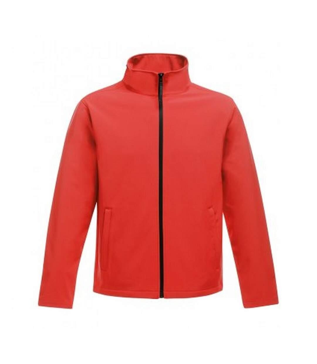 Regatta Standout Mens Ablaze Printable Soft Shell Jacket (Classic Red/Black) - UTPC3322