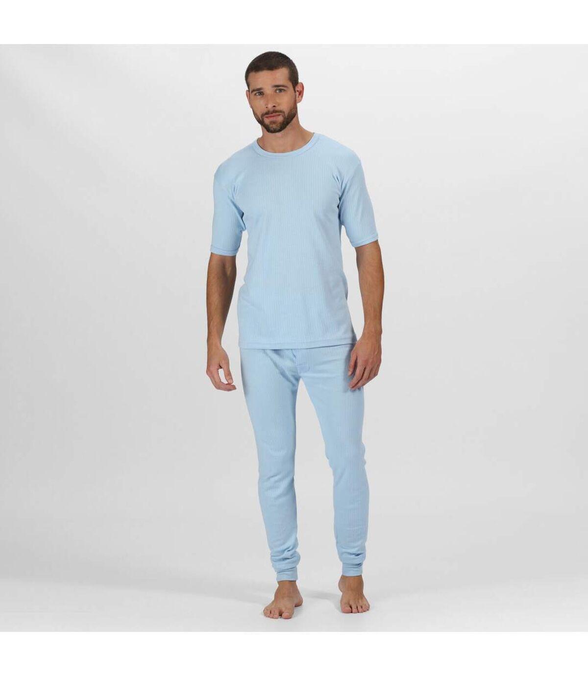 Regatta - T-shirt thermique à manches courtes - Homme (Bleu) - UTRG1427