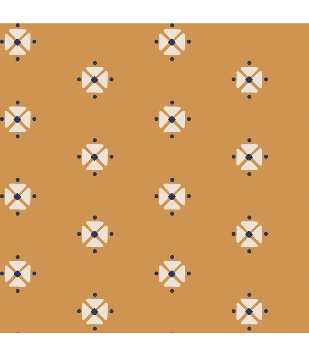 Atmosphera - Parure de lit 2 Personnes 260 x 240 cm Housse de couette avec 2 taies Imprimé Kanitha