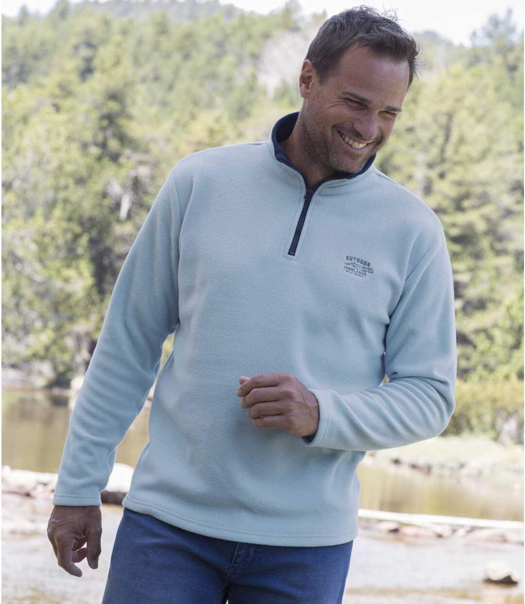2er-Pack Microfleece-Pullover Outdoor