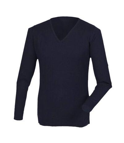 Henbury - Pull à col V - Homme (Bleu marine) - UTRW2702